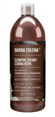 COLOR - Herbal Shampoo - Black Turnip