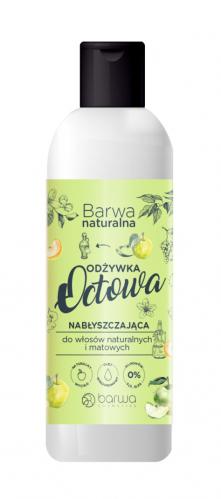 BARWA - BARWA NATURALNA - Nabłyszczająca Odżywka Octowa