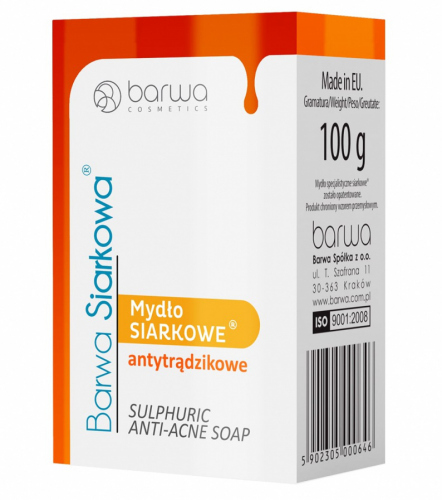 BARWA - Sulfuric Anti-acne Soap