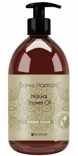 BARWA - BARWY HARMONII- Natural Shower Oil - GREEN OLIVE