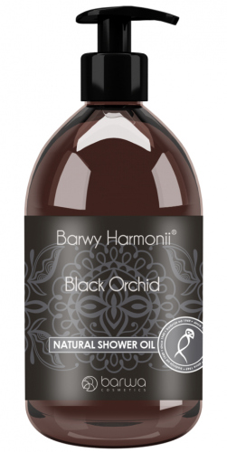 BARWA - Natural Shower Oil - BLACK ORCHID