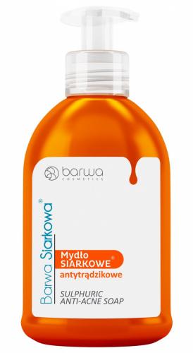 BARWA - SULFURIC LIQUID ANTI-ACNE SOAP