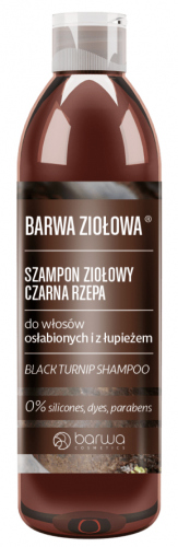 BARWA - BARWA ZIOŁOWA - Herbal Shampoo - Black Turnip - 250 ml