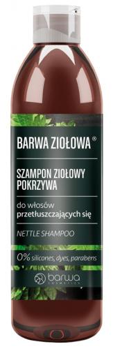 BARWA - BARWA NATURALNA - Szampon Ziołowy - Pokrzywa - 250 ml