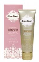 Fake Bake - GOLDEN FAUX GLO BRONZER - MATTE MEDIUM - Jednodniowy balsam brązujący do twarzy i ciała