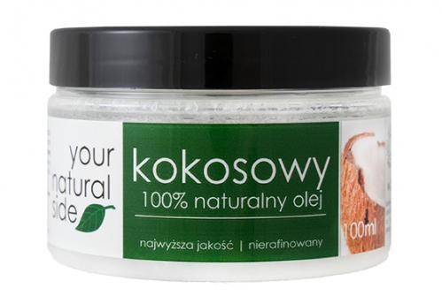 Your Natural Side - 100% naturalny olej kokosowy - Nierafinowany - 100 ml