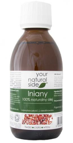 Your Natural Side - 100% naturalny olej lniany - 200 ml