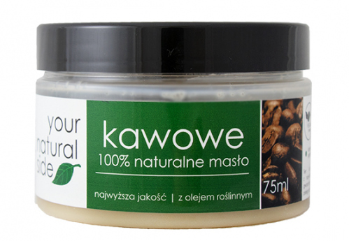 Your Natural Side - 100% naturalne masło kawowe - 75 ml