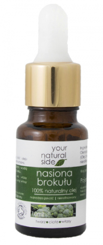 Your Natural Side - 100% naturalny olej z nasion brokułu - 10 ml