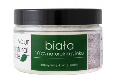 Your Natural Side - 100% naturalna glinka biała - 50 g