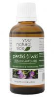 Your Natural Side - 100% naturalny olej z pestek śliwek - 50 ml