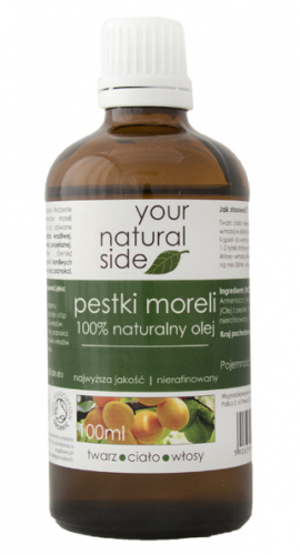 Your Natural Side - 100% naturalny olej z pestek moreli - 100 ml