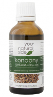 Your Natural Side - 100% Natural Hemp Oil - 50 ml