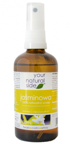 Your Natural Side - 100% naturalna woda jaśminowa - 100 ml - Spray