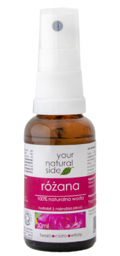 Your Natural Side - 100% naturalna woda z róży damasceńskiej - 30 ml