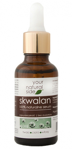 Your Natural Side - 100% naturalne serum skwalan - 30 ml