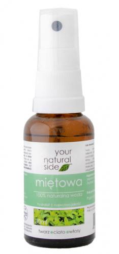 Your Natural Side - 100% naturalna woda z mięty pieprzowej - 30 ml