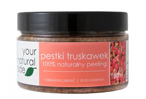 Your Natural Side - 100 % naturalny peeling z pestkami truskawek