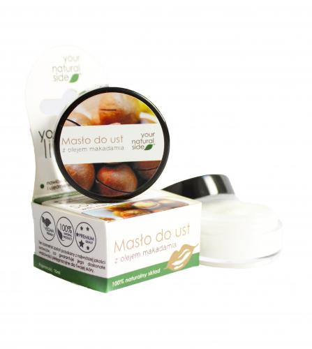 Your Natural Side - Masło do ust z olejem makadamia