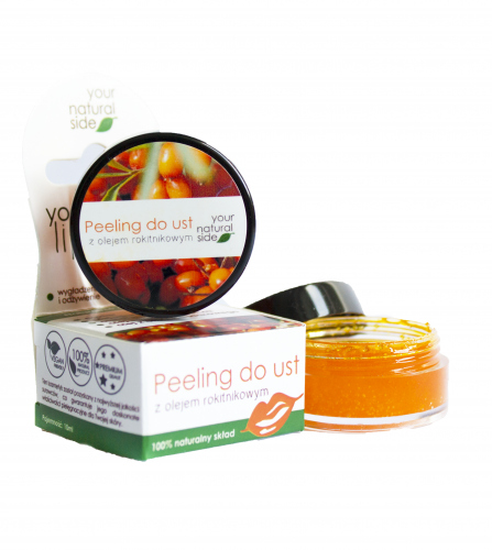 Your Natural Side - Peeling do ust z olejem rokitnikowym