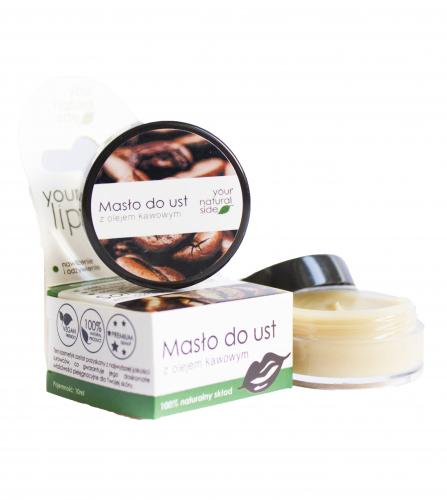 Your Natural Side - Masło do ust z olejem kawowym