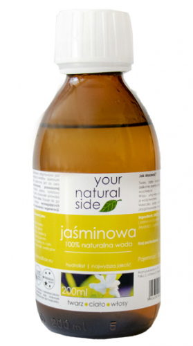 Your Natural Side - 100% naturalna woda jaśminowa - 200 ml