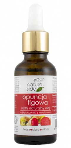 Your Natural Side - 100% naturalny olej z opuncji figowej - 30 ml