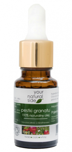 Your Natural Side - 100% naturalny olej z pestek granatu - 10 ml