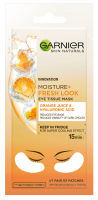 GARNIER - MOISTURE + FRESH LOOK - EYE TISSUE MASK