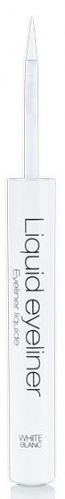 Melkior - LIQUID EYELINER - WHITE BLANC - Eyeliner w płynie