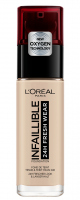 L'Oréal - INFALLIBLE - 24H FRESH WEAR - Podkład do twarzy - 125 - NATURAL ROSE - 125 - NATURAL ROSE