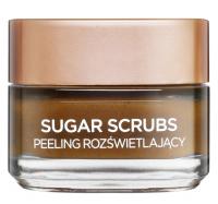 L'Oréal - SUGAR SCRUBS - GLOW PEELING - Rozświetlający peeling do twarzy