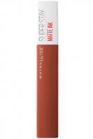 MAYBELLINE - SUPER STAY - MATTE INK - Matowa pomadka w płynie - 135 - GLOBETROTTER - 135 - GLOBETROTTER