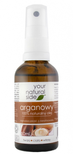 Your Natural Side - 100% naturalny olej arganowy - 50 ml