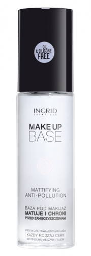 INGRID - MAKE-UP BASE - MATTIFYING ANTI-POLLUTION - Matująca baza pod makijaż