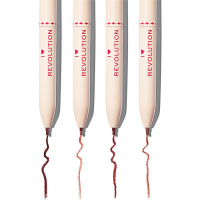 I HEART REVOLUTION - MULTI LINER NUDES - Set of 4 lip liners