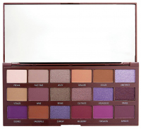 I Heart Revolution - VIOLET EYESHADOW PALETTE - Paleta 18 cieni do powiek