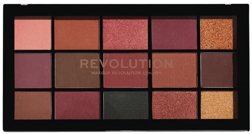 MAKEUP REVOLUTION - RE-LOADED NEWTRALS 3 - Paleta 15 cieni do powiek