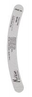 MELKIOR - 2 WAY NAIL FILE - ZEBRA COARSE BANANA - Dwustronny pilnik banan do paznokci - 100/180