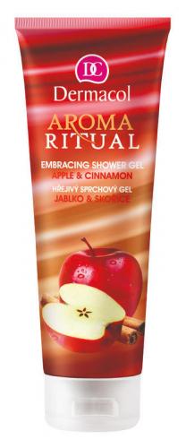 Dermacol - AROMA RITUAL - EMBRACING SHOWER GEL - Apple & Cinnamon - Żel pod prysznic o zapachu jabłek i cynamonu
