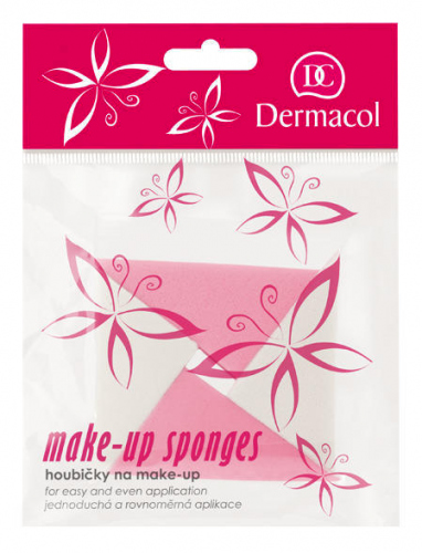 Dermacol - Make-up Sponges - Zestaw 4 gąbek do makijażu
