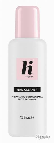 Hi Hybrid - NAIL CLEANER - Preparat do odtłuszczania płytki paznokcia - 125 ml