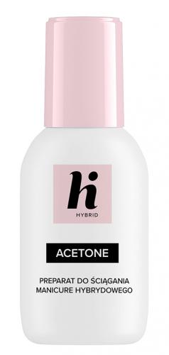 Hi Hybrid - ACETONE - Preparat do usuwania manicure hybrydowego - 50 ml