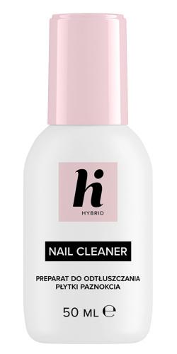 Hi Hybrid - NAIL CLEANER - Preparat do odtłuszczania płytki paznokcia - 50 ml