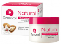 Dermacol - Natural Almond Day Cream - Krem do twarzy na dzień dla skóry suchej i bardzo suchej
