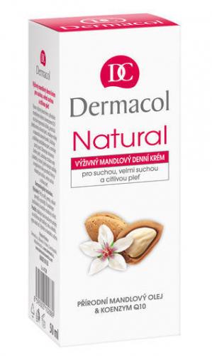 Dermacol - Natural Almond Day Cream II - Midgdałowy krem do twarzy dla cery suchej i wrażliwej