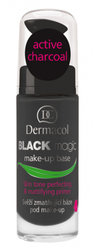 Dermacol - DETOXIFYING BLACK MAKE UP MAGIC BASE