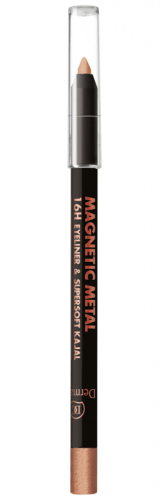 Dermacol - MAGNETIC METAL - 16H EYELINER & SUPERSOFT KAJAL