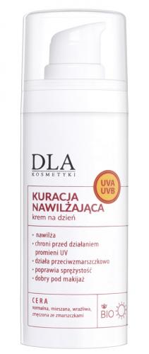 Kosmetyki Dla - KURACJA NAWILŻAJĄCA - Jarzębinowy krem do twarzy na dzień - 30g