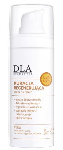 Kosmetyki Dla - KURACJA REGENERUJĄCA - Krem do twarzy na dzień - 30g